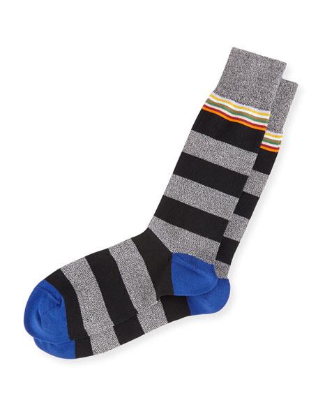 Paul Smith Sol Twist Striped Socks