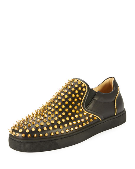 Sailor Boat Spikes Men's Slip-On Sneaker