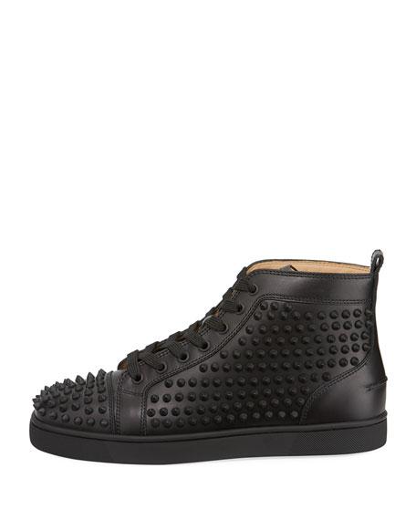 Yang Louis Leather High-Top Sneaker