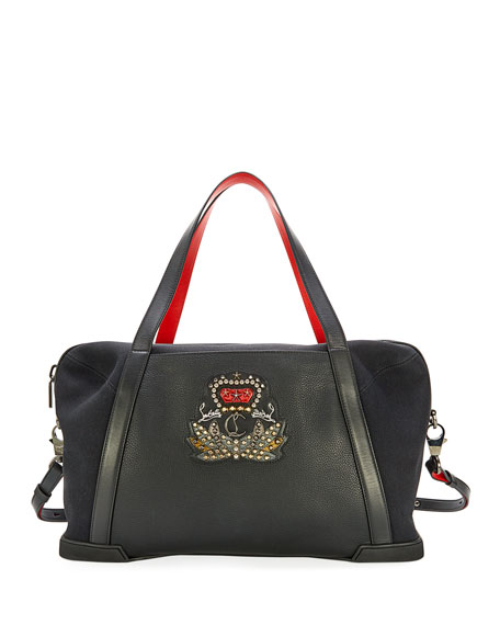 Damon Men's Leather Duffel Bag