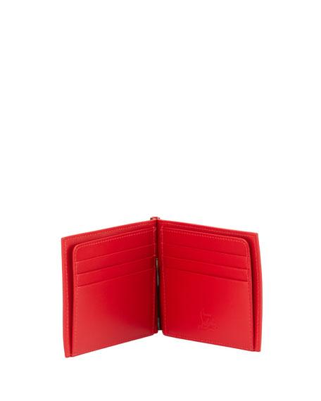 Clipsos Bi-Fold Leather Wallet