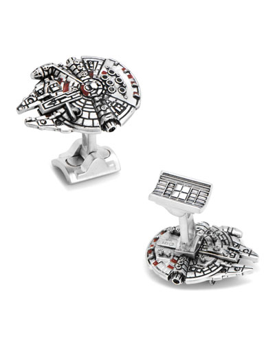 Star Wars Millennium Falcon Cuff Links