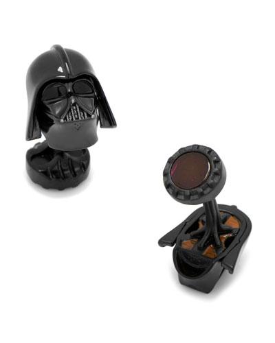 3D Star Wars Darth Vader Cuff Links