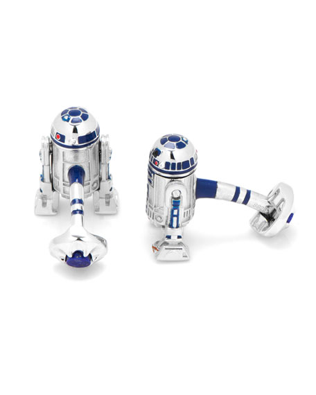 3D Star Wars R2-D2 Cuff Links