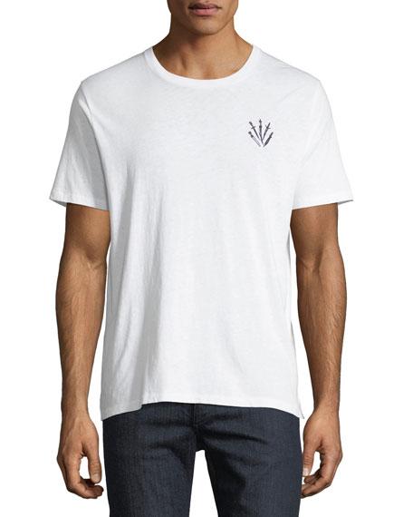 Men's Dagger Embroidered T-Shirt