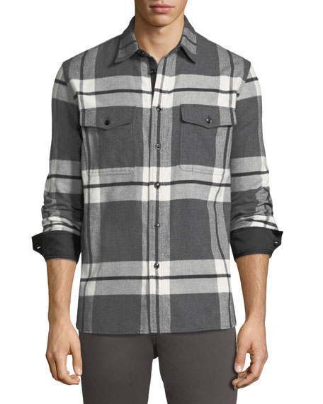 Men's Jack Brushed Flannel Shirt Jacket