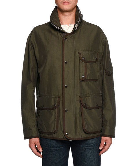 Three-Pocket Cargo Jacket