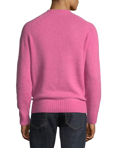 Super-Soft Wool-Blend Crewneck Sweater