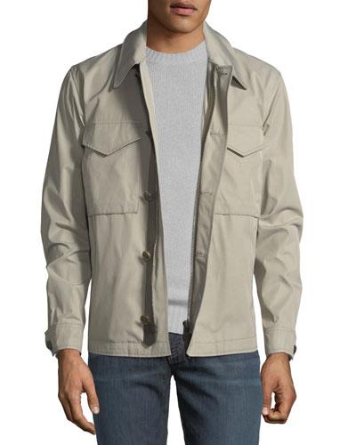 Two-Pocket Short Jacket