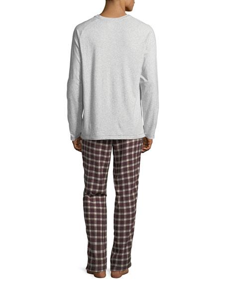 Steiner Plaid Two-Piece Pajama Gift Set