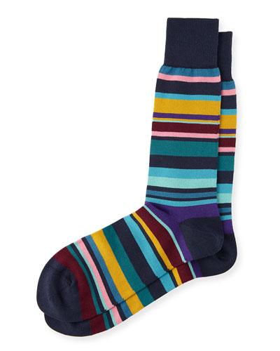 Bolog Striped Socks