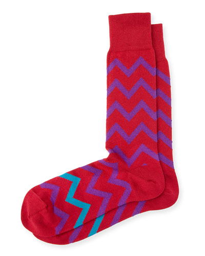 BRIGHT ZAG SOCK