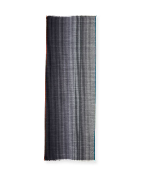 Triple-Graded Striped Scarf