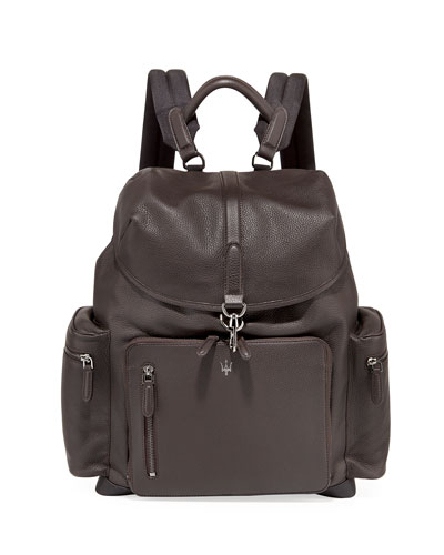 Maserati Leather Backpack