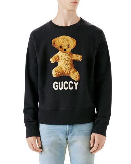 Guccy Teddy Bear Sweatshirt