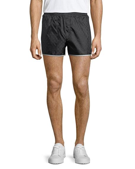 507ce21678 Gucci GG Nylon Swim Short Trunks