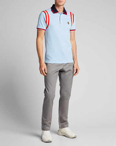 8979f254fcf Designer Polo Shirts   Long-Sleeve   Short-Sleeve at Bergdorf Goodman
