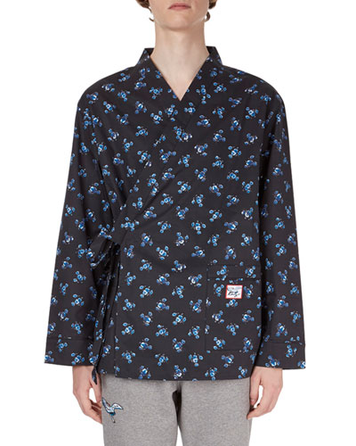 La Collection Memento N°1 May Flower Pajama Shirt