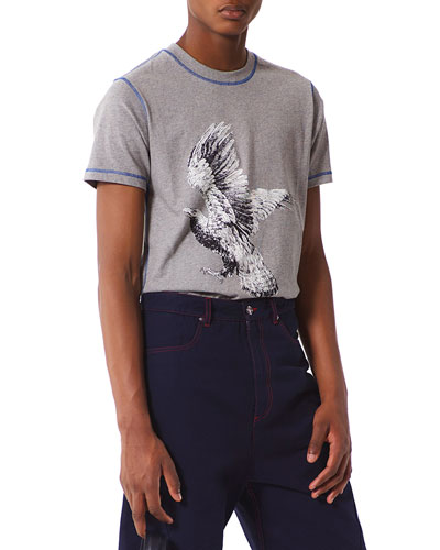 La Collection Memento N°1 Eagle-Print T-Shirt