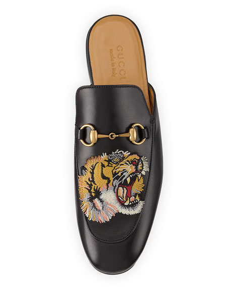 Kings Tiger Leather Mule