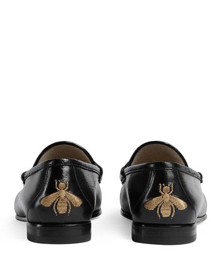 Leather & Herringbone Loafer