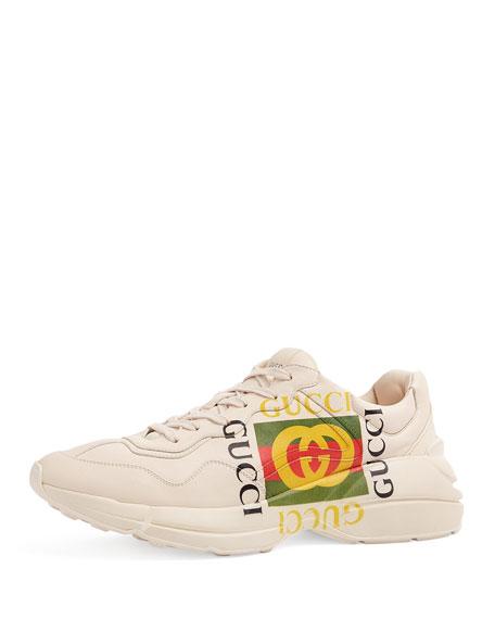 Gucci Logo Leather Sneaker