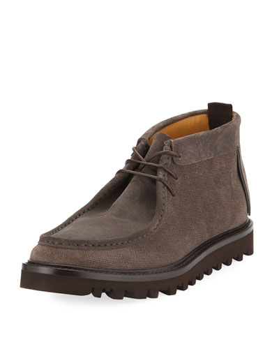 Wallaby Lug-Sole Suede Boot