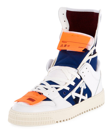 High 3.0 Leather High-Top Sneaker