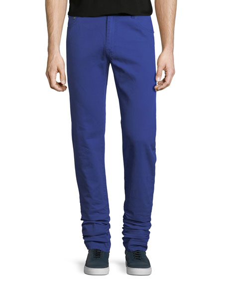 Five-Pocket Cotton Jeans
