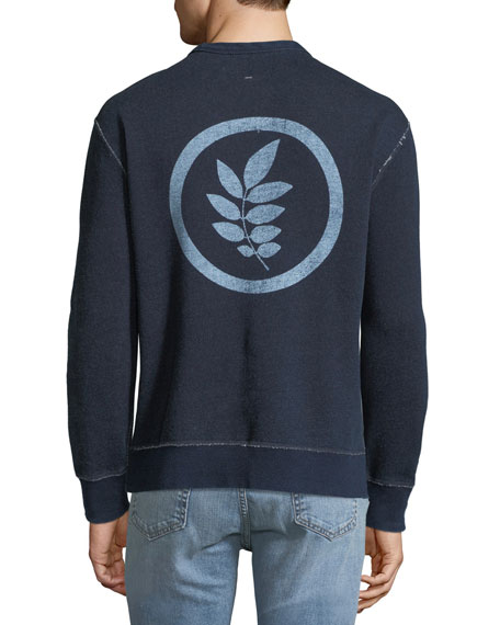 Men's Leaf Graphic Sweatshirt