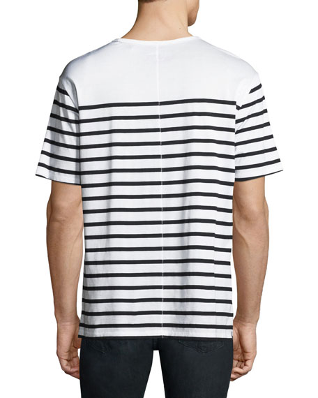 Men's Breton Striped T-Shirt