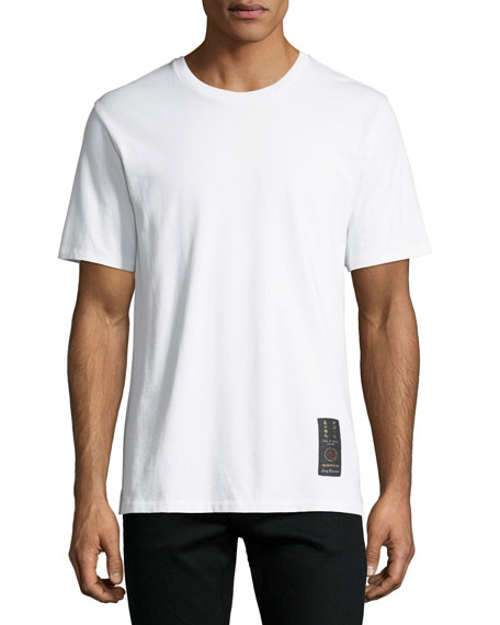 Mini Label Cotton T-Shirt