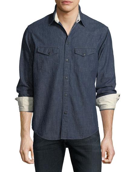 Men's Beck Denim Western Shirt