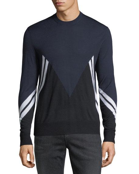 Retro Modernist Wool Sweater