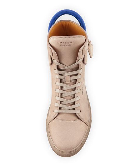 Men's 125mm Nubuck High-Top Sneakers