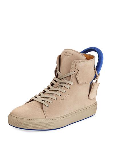 Men's 125mm Nubuck High-Top Sneaker