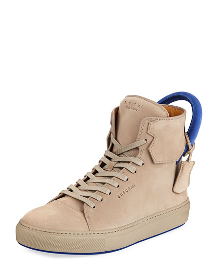 BUSCEMIMen's Ankle Strap High Top Sneaker fpWyEb5Z