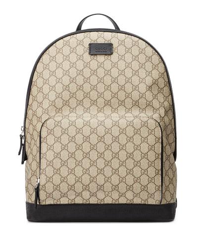 Men's GG Supreme Canvas Backpack