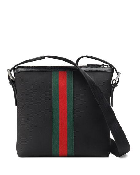 Men's Web GG Supreme Messenger Bag