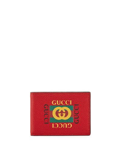 gucci keychain wallet. bi-fold logo wallet quick look. gucci keychain