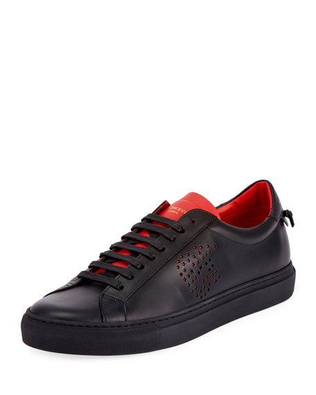 Men's Urban Street Leather Low-Top Sneakers