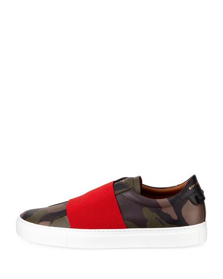 Urban Street Camouflage-Print Slip-On Sneaker