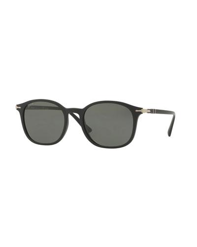 PO3182S Round Sunglasses