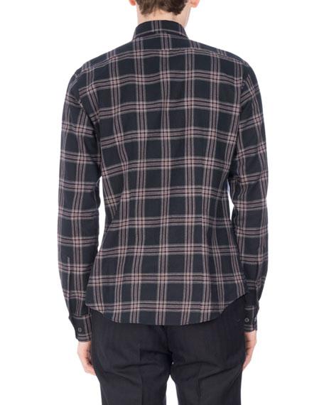 Chaines Plaid Flannel Shirt