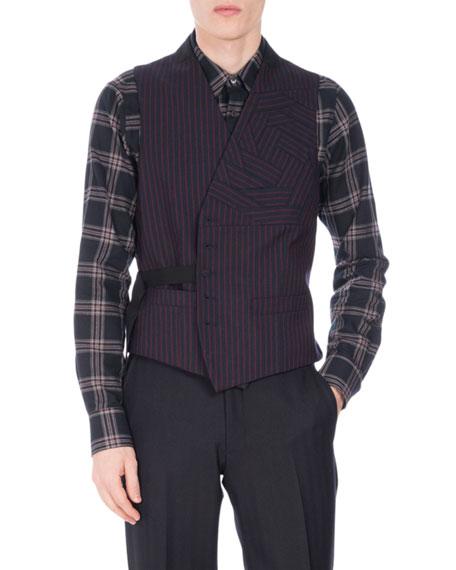 Gilmo Origami Striped Vest