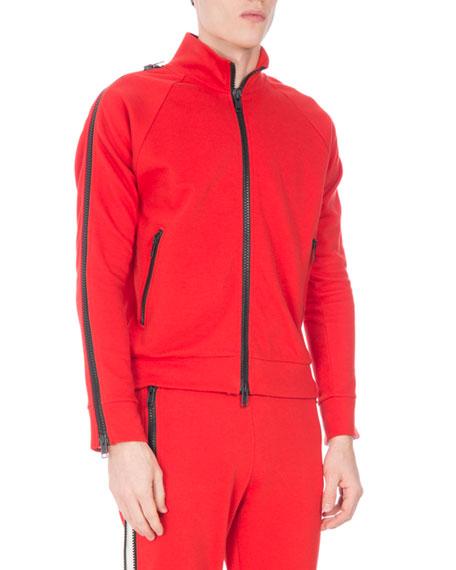Hakeem Zip-Front Track Jacket