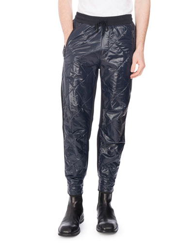 Hemmy Quilted Sweatpants