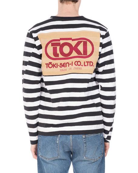 Hoki Striped Crewneck T-Shirt