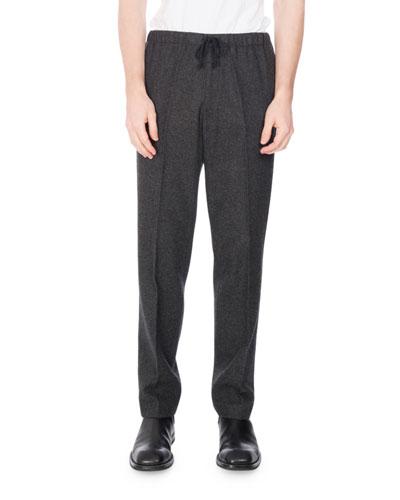 Perkino Flannel Jogger Pants