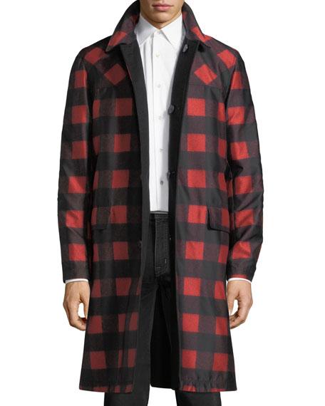 Randy Reversible Hooded Coat